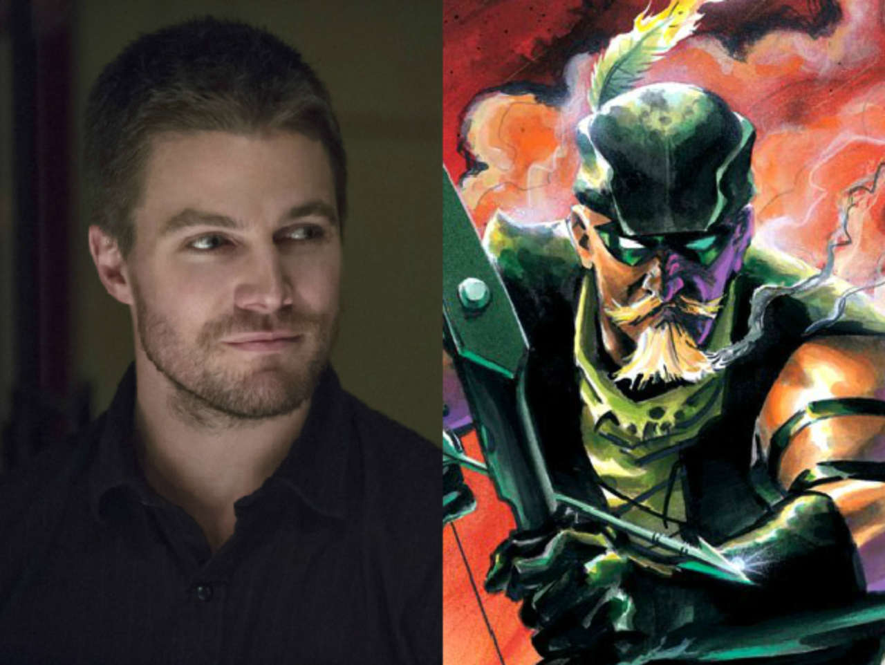 Will Stephen Amell Sport Oliver Queens Trademark Facial Hair On