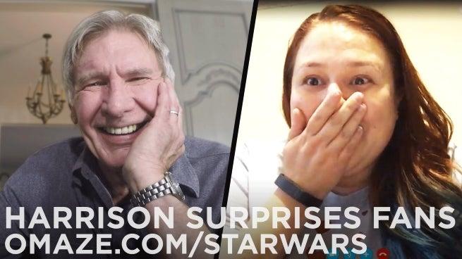 harrison ford surprise