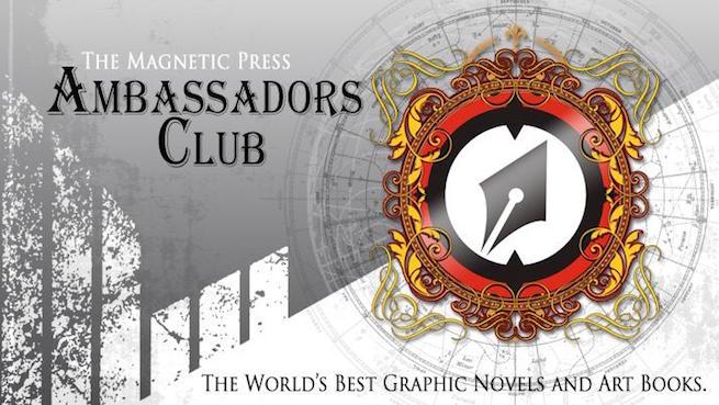Magnetic Press Ambassadors Club