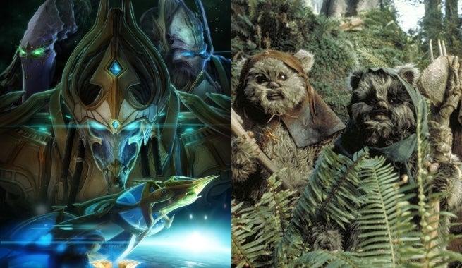 starcraft ewoks