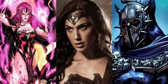 wonder woman villains