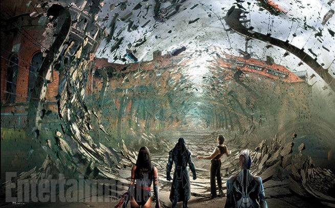 X-Men: Apocalypse Storyboard