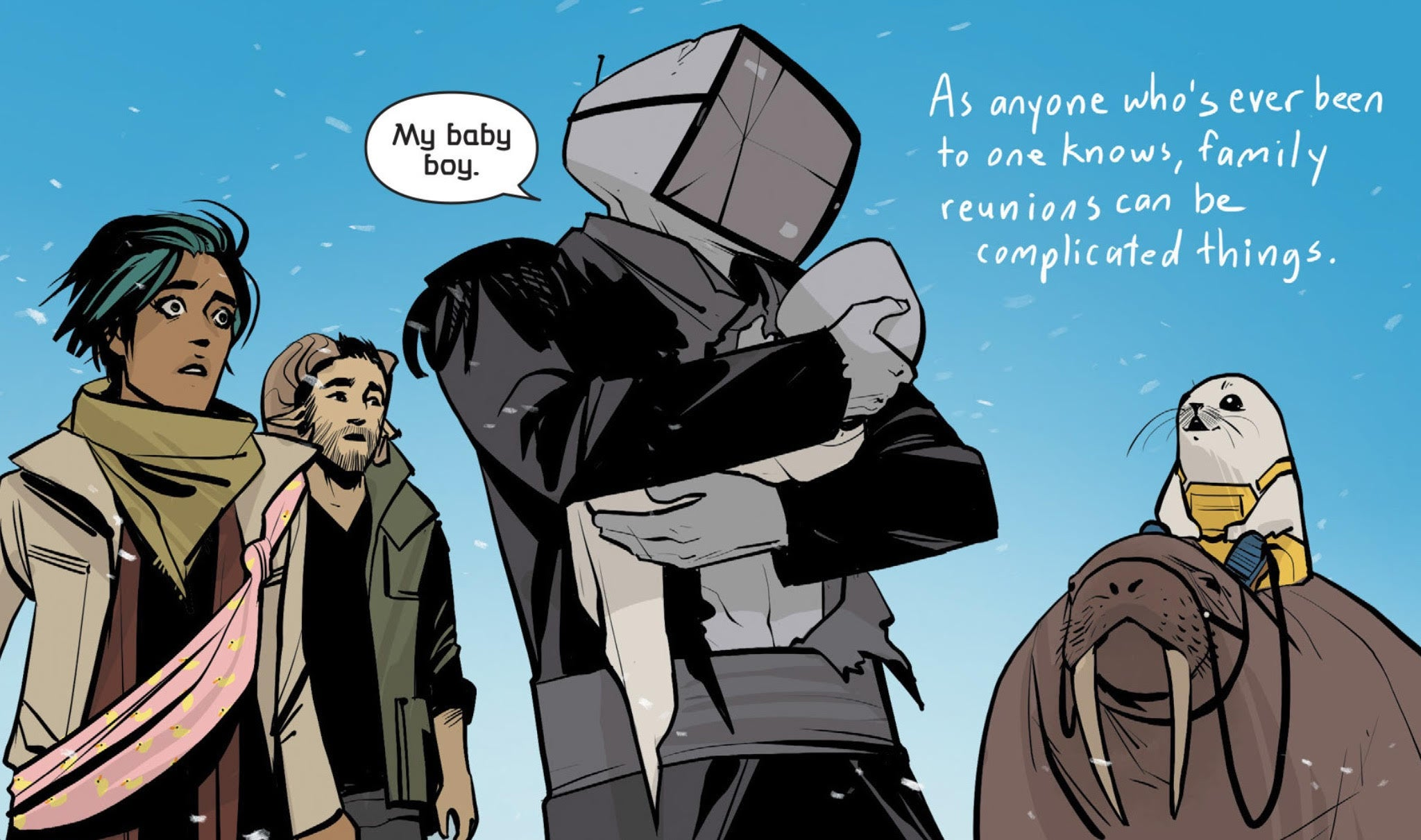 3 Best Comics of 2015 - Saga