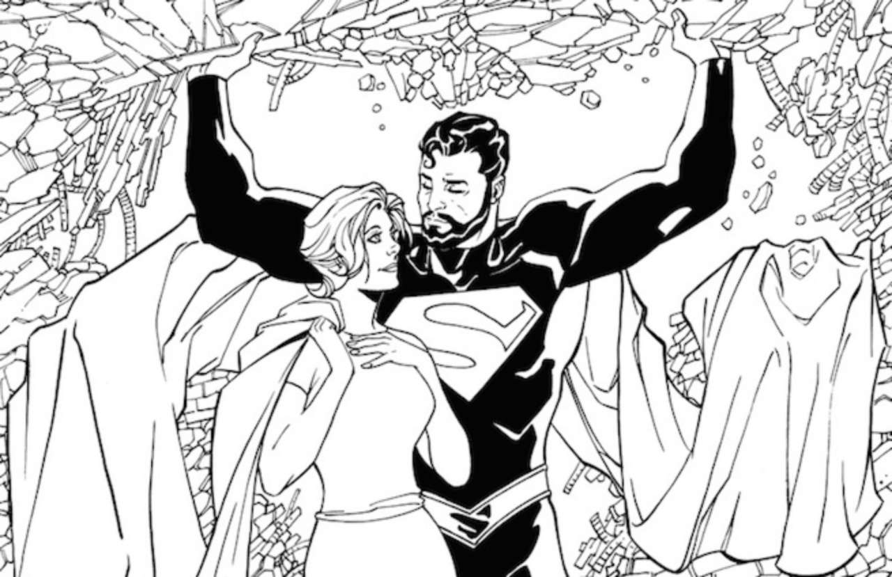 DC Comics Adult Coloring Book Variants Revealed