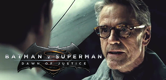 Jeremy Irons Confirms Alfred and Bruce Live Away from Wayne Manor in Batman V Superman