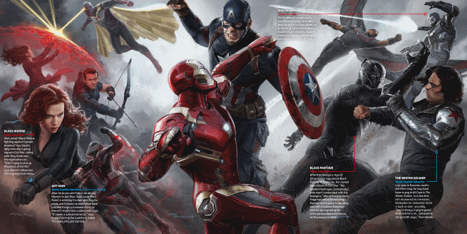 Captain America Civil War Concept Art From Total Film