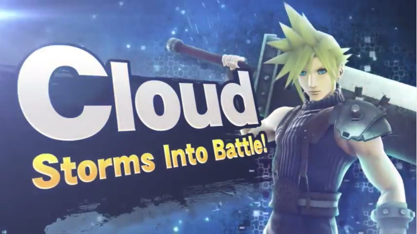 Cloud Strife In Super Smash Bros