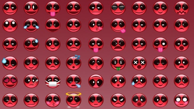 Deadpool Emoji