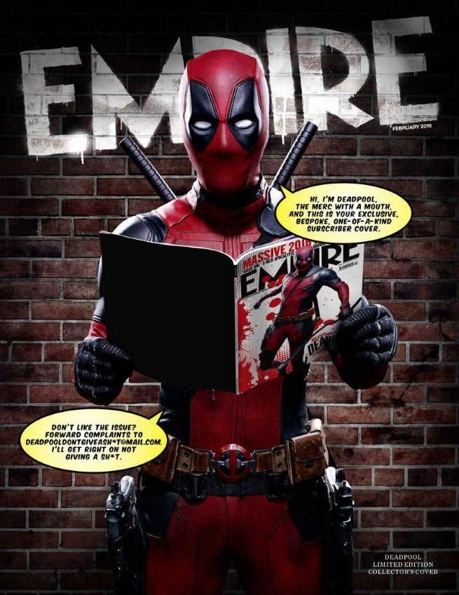 Deadpool Empire Subscribers Cover