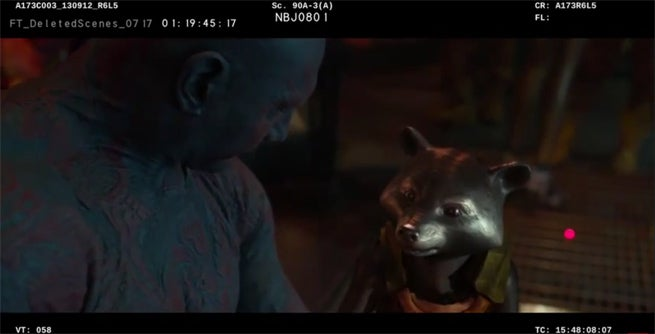 Guardians of the Galaxy Deleted Scene Reveals Origin of Drax's Tattoos