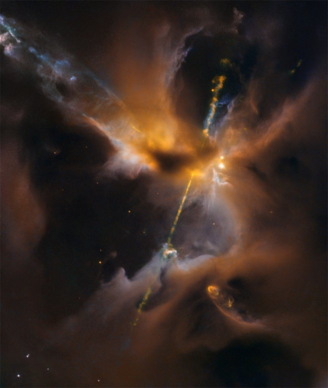 A Cosmic Lighsaber