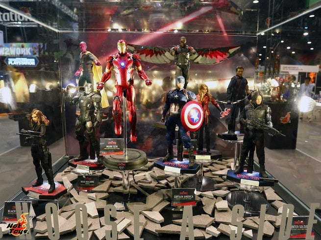 Hot Toys - Marvel Exhibits at ToySoul 2015 (2)