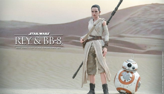 Hot Toys - Star Wars - The Force Awakens - Rey & BB-8 Collectible Set_PR4