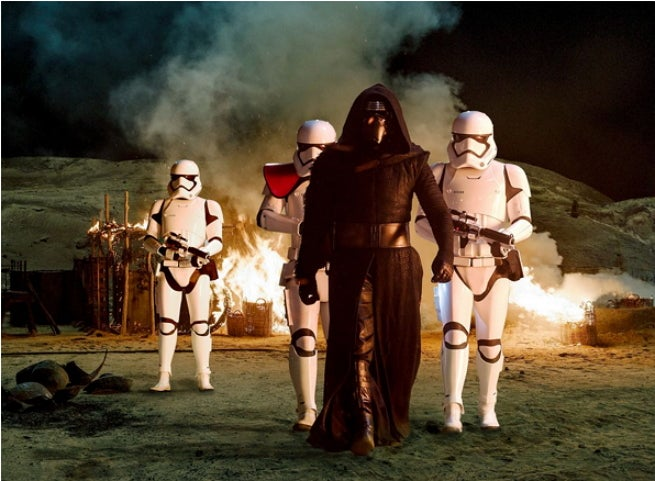 kylo ren stormtroopers
