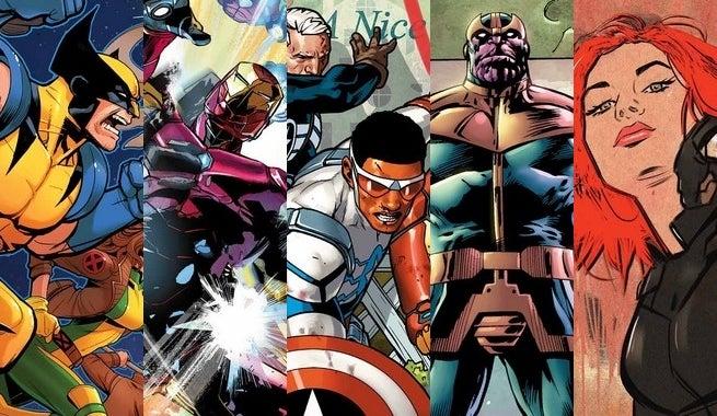 Marvel Comics March 2016