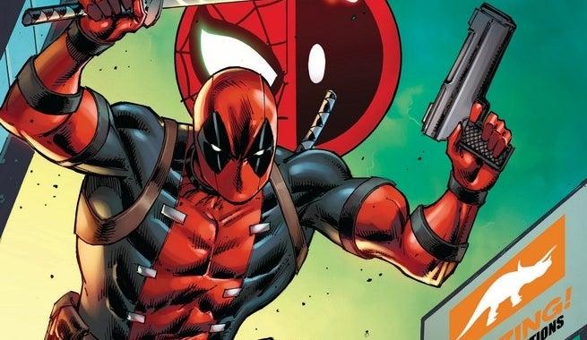 Spider-Man Deadpool 1 Rob Lieffeld Convention Variant
