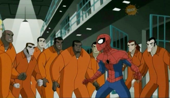 Spider-Man-Jail