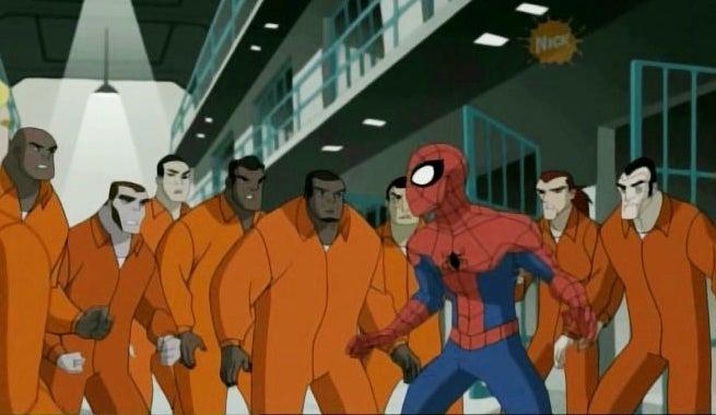 Spider-Man-Jail