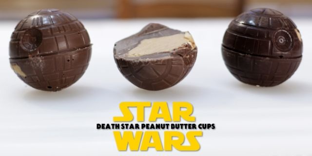 Star Wars Death Star Peanut Butter Cups