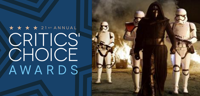 Star Wars The Force Awakens - Critic's Choice Awards