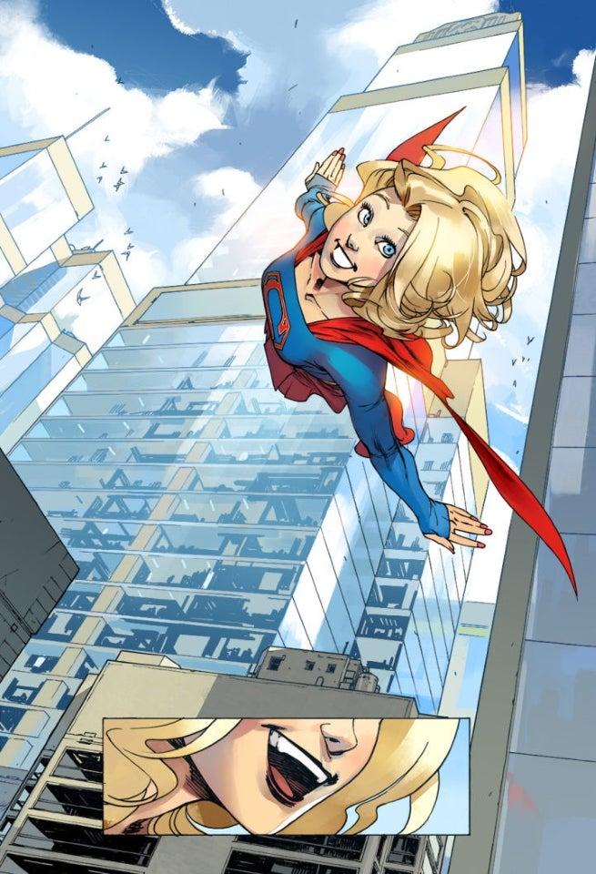 Supergirl Digital Comics Series