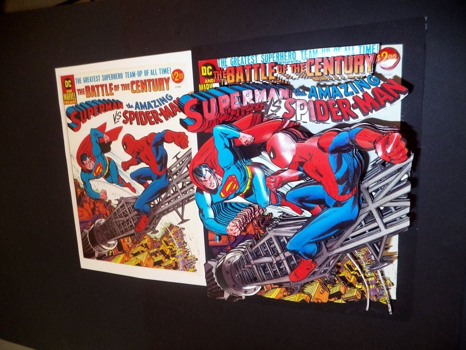 superman-vs-the-amazing-spider-man-3d-shadowbox