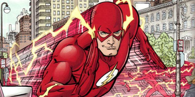 The Flash Christmas Cover
