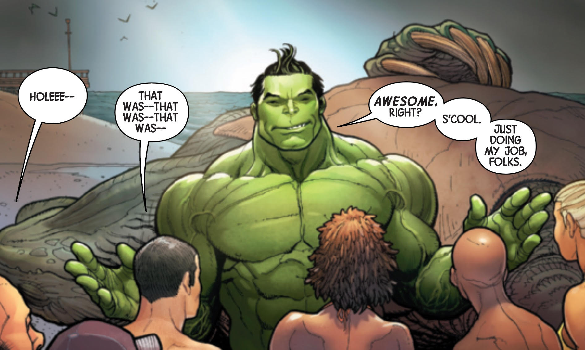 Totally Awesome Hulk #1 - Bro