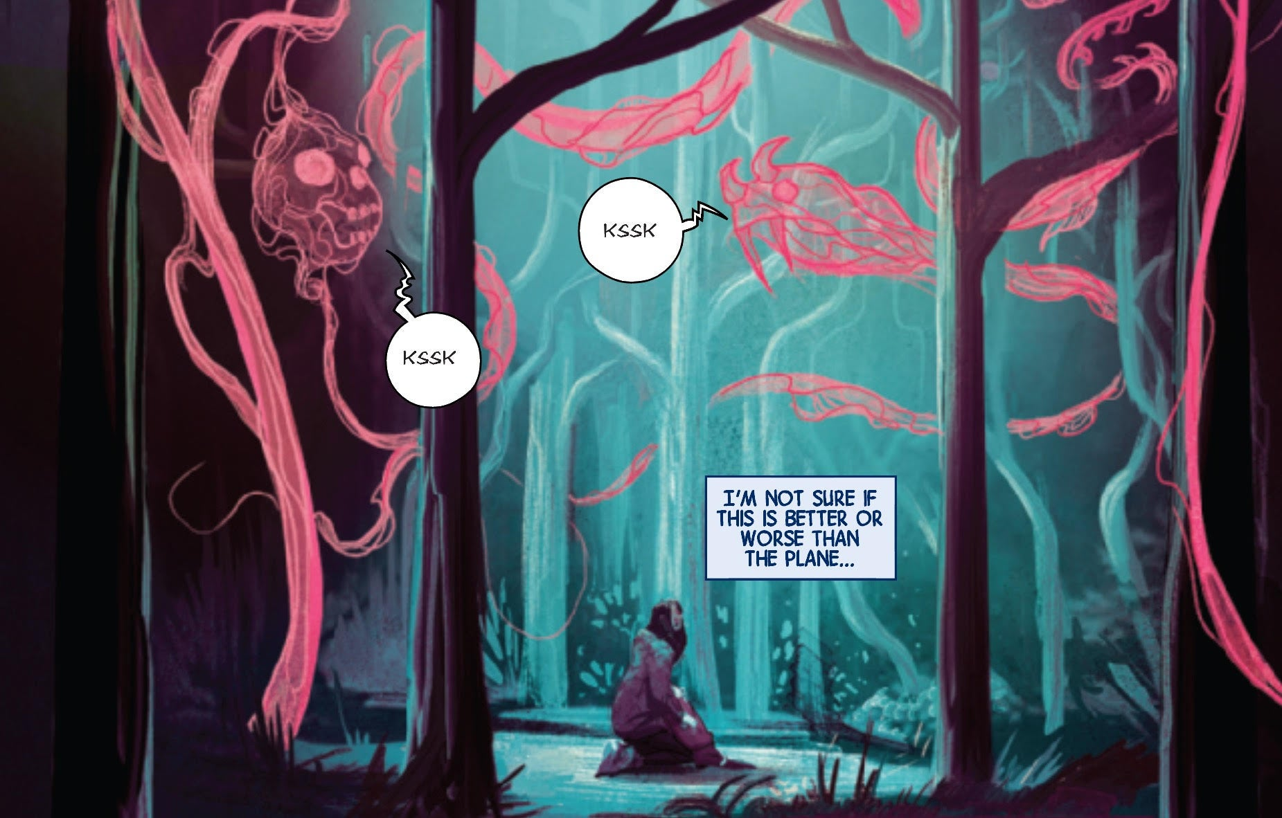 Weirdworld #1 Ghosts