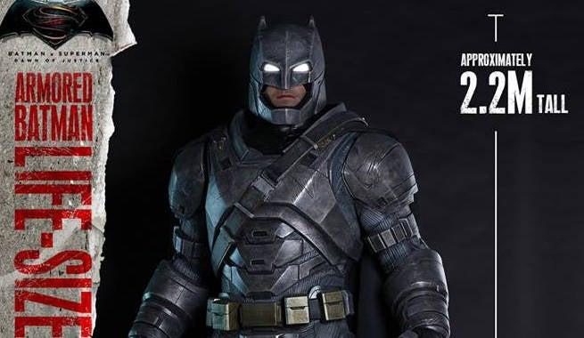 Hot Toys Reveals Full-Size Mech-Suit Batman Statue From ...