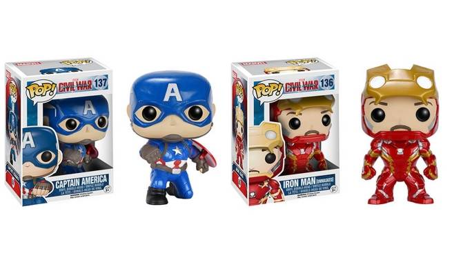 Captain America Civil War Funko