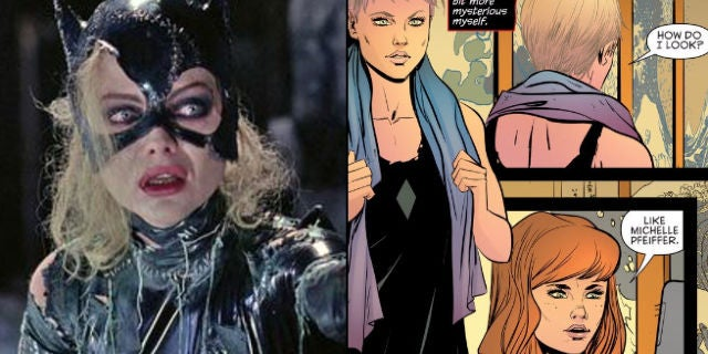 Catwoman Now Looks Like Michelle Pfeiffer In The Comics