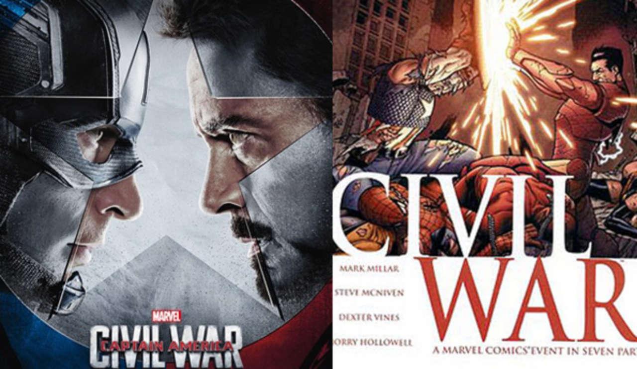 Joe Russo Compares Captain America: Civil War Movie To Comics