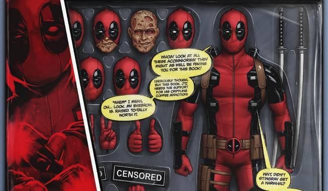 Deadpool #7 Action Figure Variant