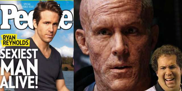 Deadpool Reads People Magazine With Ryan Reynolds As
