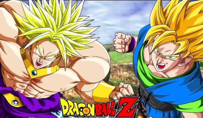Dragon Ball - Broly and Goku