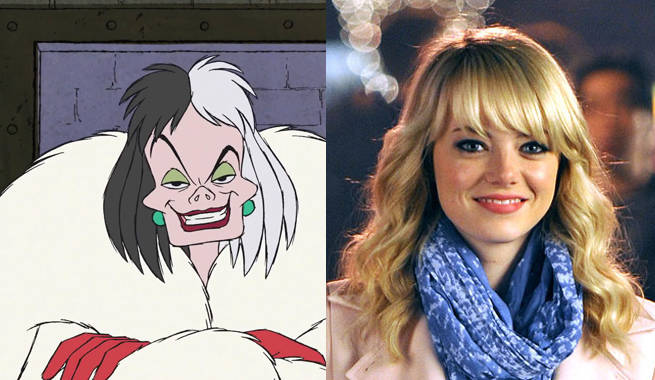 Emma Stone in Talks for Disney's Cruella de Vil Origin Movie