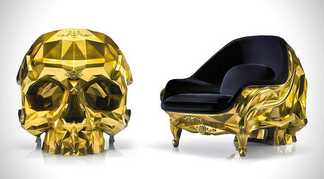 Gold-Skull-Armchair-by-Harow-1