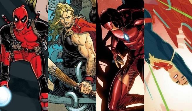 Marvel April 2016 Advance Solicitations