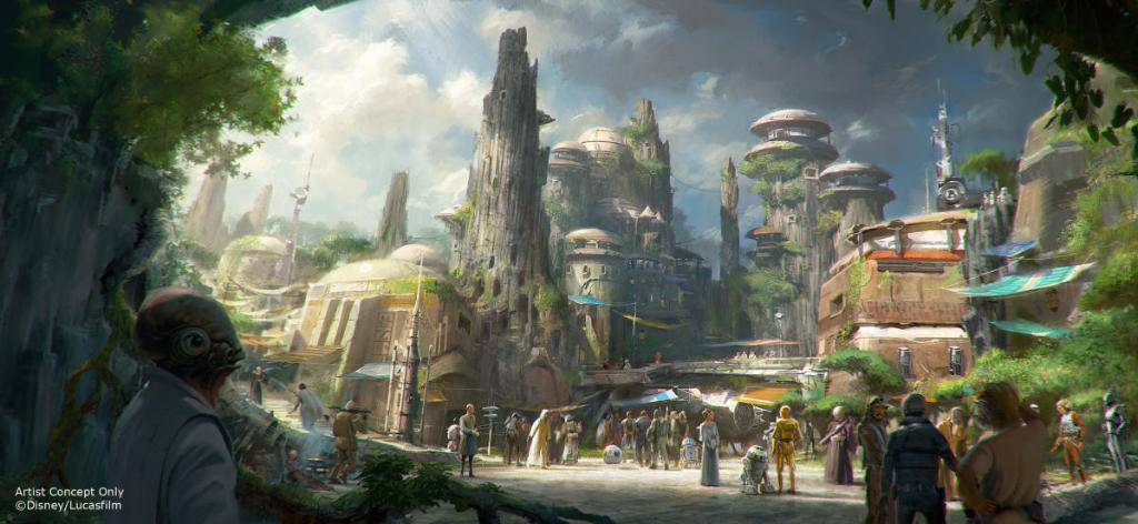 Star Wars Land Officially Breaks Ground April 2016