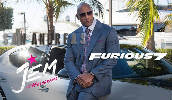 The Rock Named #1 International Box Office Star Of 2015
