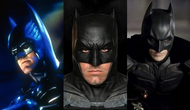 Batman - George Clooney, Ben Affleck, Christian Bale