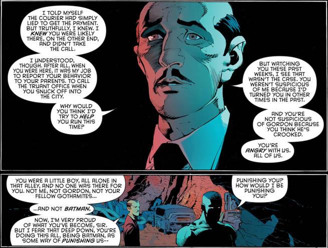 Batman Alfred's Speech
