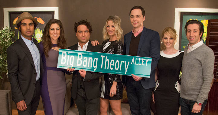 The Big Bang Theory Gets Its Own Street In California