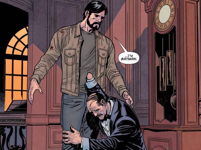 Bruce Wayne I Am Batman