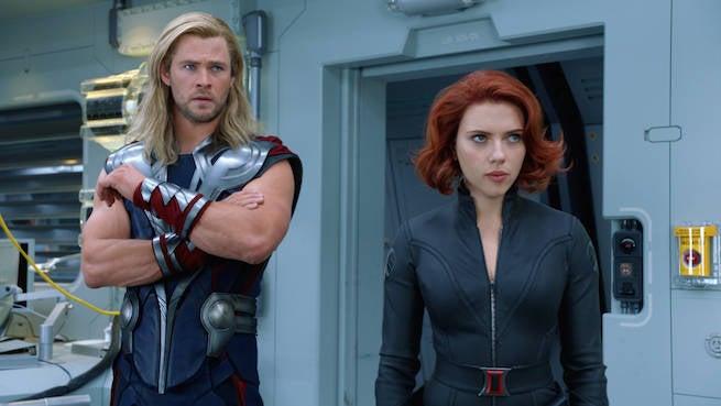 Chris-Hemsworth-Thor-Scarlett-Johansson-Black-Widow