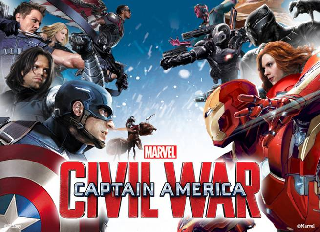Civil War Promo Art