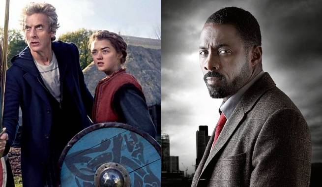 Doctor Who Idris Elba Maisie Williams