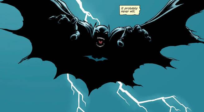 Grant Morrison Batman Will Never Die