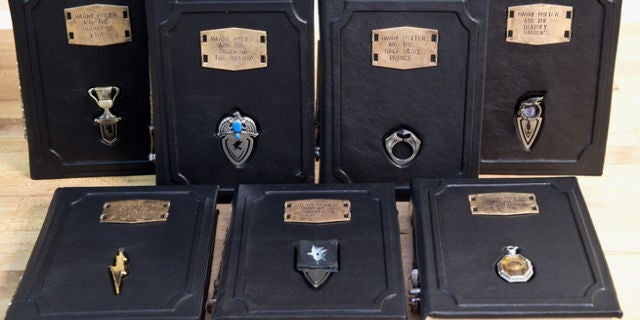 These Leather Bound Harry Potter Editions With Horcrux